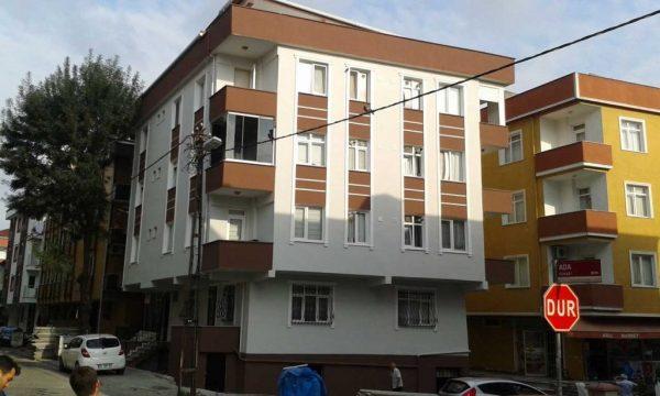 şentürk apartmanı mantolama